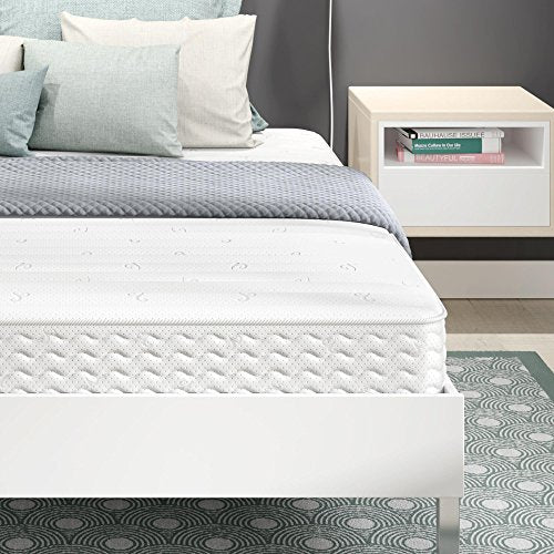 Signature Sleep Contour Encased Coil 8 Inch Mattress, Queen
