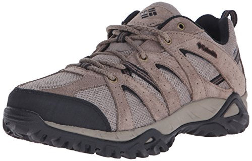 Columbia Men's Grand Canyon-M, Pebble/Black, 7 D US