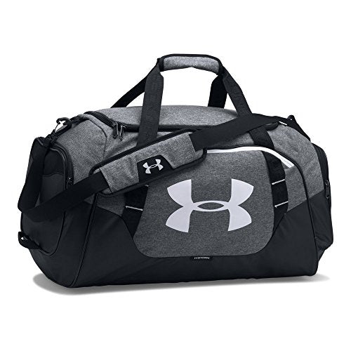 Under Armour Undeniable 3.0 Duffle, Graphite (041)/White,