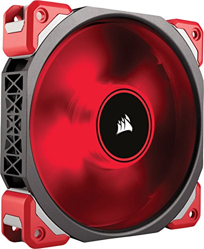 Corsair ML120 Pro LED, Red, 120mm Premium Magnetic Levitation Cooling Fan CO-9050042-WW