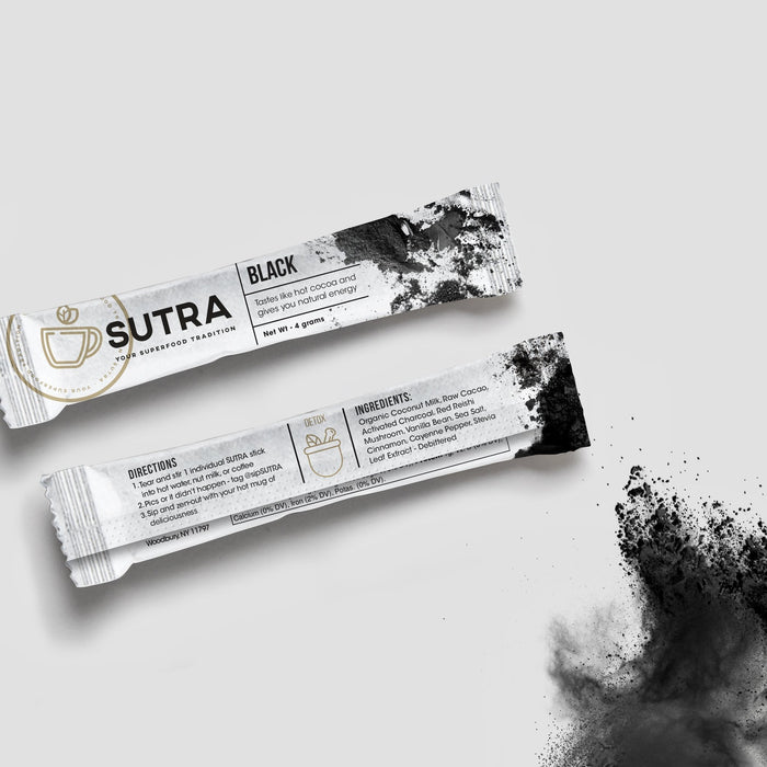 SUTRA - Sutra Black - Box of 10 Sticks