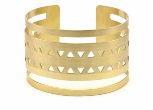 Boho Gal Jewelry - Double Triangle Cuff