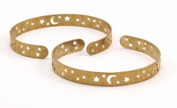 Boho Gal Jewelry - Moon Cuff