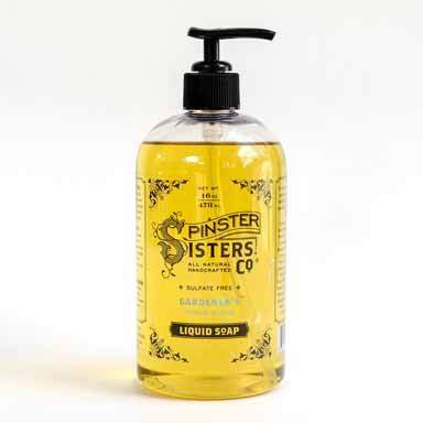Spinster Sisters Co. - Cedar Sage Liquid Soap