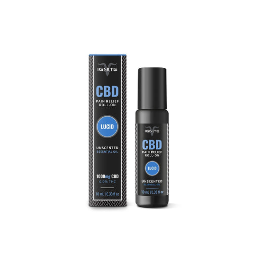 Lucid | Unscented CBD Roll-On Oil