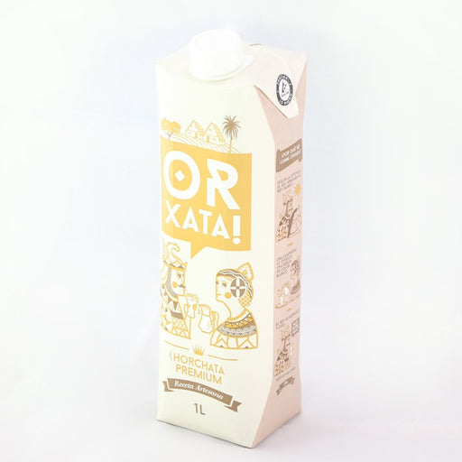 Horchata de Chufa Premium ORxata - Tigernut Milk  , UHT 1 litre 34 oz. FREE SHIPPING in USA - 4qui.com Mercado Global en Español  Food & Beverages / Beverages / Non Dairy Milk