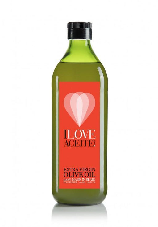 Iloveaceite red label | Case 12 bottles 1 L | 33.81 fl oz | Extra Virgin Olive Oil - 4qui.com Mercado Global en Español  Olive Oil