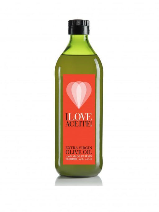 Iloveaceite red label | Box 15 bottles 500 ml | 16,9 fl oz | Extra Virgin Olive Oil - 4qui.com Mercado Global en Español  Olive Oil