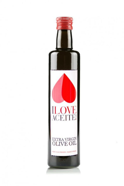 iloveaceite white label | Box 15 bottles 500 ml | 16,9 fl oz | PDO Extra Virgin Olive Oil - 4qui.com Mercado Global en Español  Olive Oil