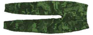 Orugged , Military Cargo MP02 Camouflaged .