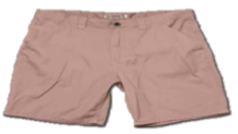 Orugged , Shorts , Rose Red