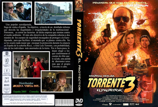 Torrente 3 DVD en Español - 4qui.com Mercado Global en Español  DVD