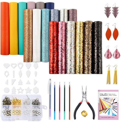 Leather Earrings Making Kit