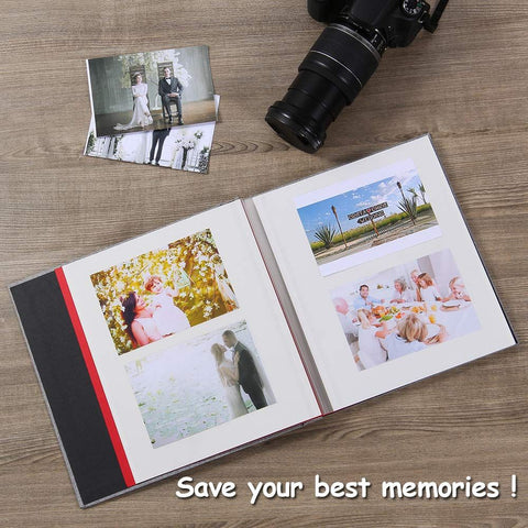 Self Adhesive Magnetic 40 Pg. Scrapbook Photo Album