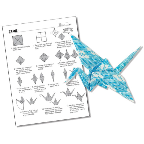 Classic Origami Kit -- With Premium Paper And Instructions!