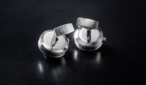 GE001 CUFFLINKS (SS-Black color)