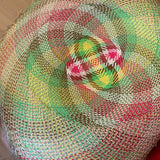 buntal mat pre-hat by Deb Pearce at Louise Macdonald workshop