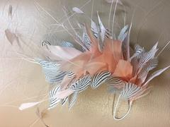 Pheasant Feather Mounts (F1823) - AU - B Unique Millinery