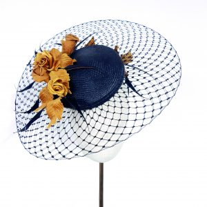 B Unique with Veiling Brim - Intermediate#2 - 29th July - [Virtual Workshop] - B Unique Millinery