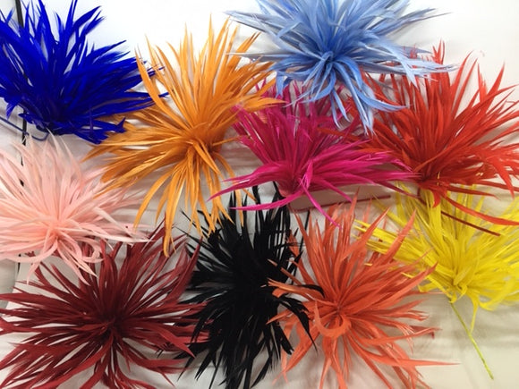 Biot Feather Star Flower on Wire - US