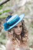 Sinamay Boater Hat Bases - AU - B Unique Millinery