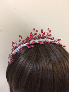 Red Headpieces - AU - B Unique Millinery