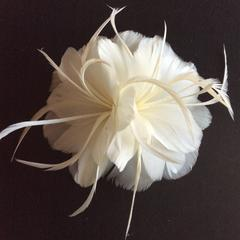 Feather Flower (YX12081) - AU - B Unique Millinery