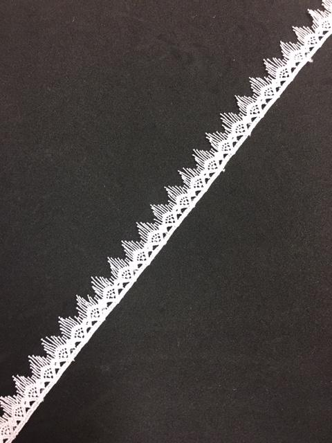 Lace Trim 01 - Fine Spike Edge - AU - B Unique Millinery