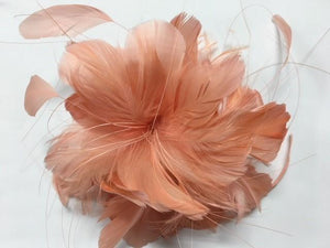 Soft Goose Feather Flower (EF217) - AU - B Unique Millinery