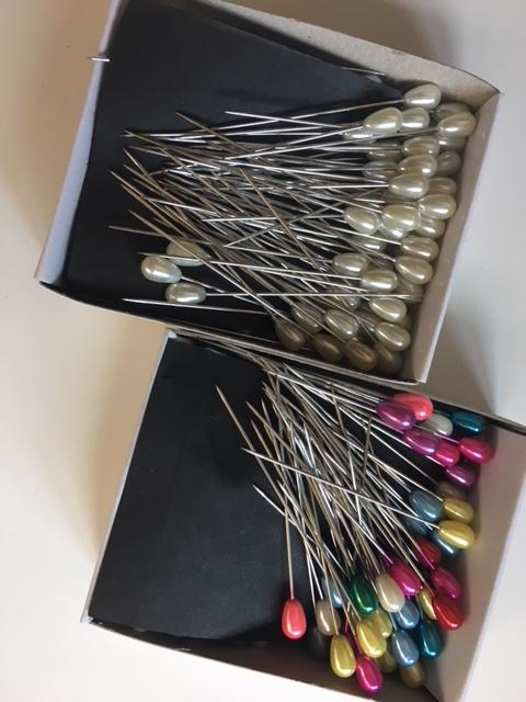 Pearl Head Pins - Au - B Unique Millinery