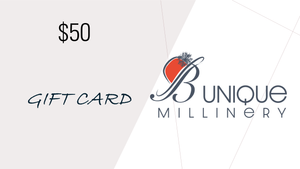 B Unique Millinery Gift Cards