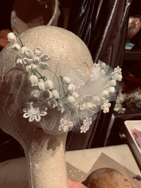 B Unique with Bridal Head-Dress - 3rd August - [Phillip Rhodes] - B Unique Millinery