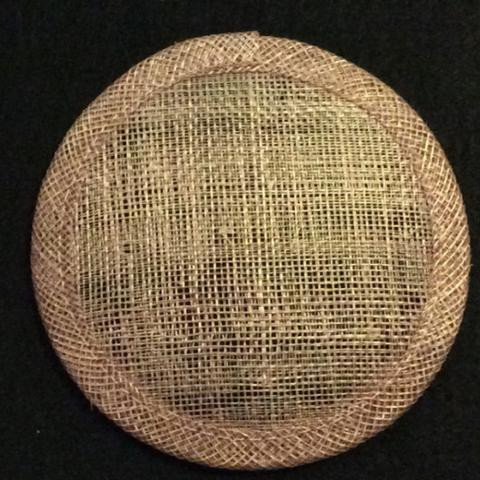 Sinamay Round [10cm] Bases - US - B Unique Millinery