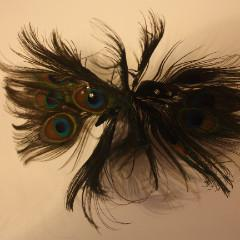 Natural Peacock Eye Flower (2 Flowers) - AU - B Unique Millinery