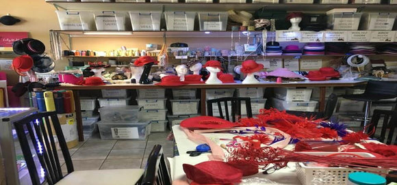 Millinery Workshop - Full Day - B Unique Millinery