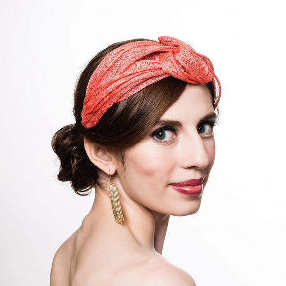 B Unique with Sinamay Headband Turban - 25th Oct - [Laura Del Villaggio]