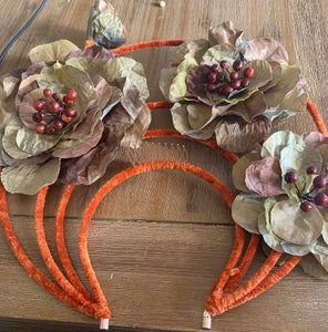 B Unique with Silk Flowers without Tools - 28th Sept - [Alison Clark]