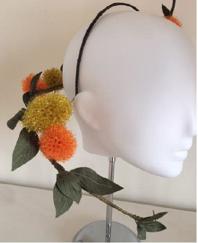 Millinery Mayhem Session#8 - Spectacular Vine Headpiece - (Rebecca Share)