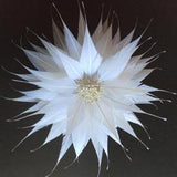Spikey Feather Flower Large (EF1099) - US - B Unique Millinery