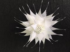 Spikey Feather Flower Minature (EF1099) - US - B Unique Millinery