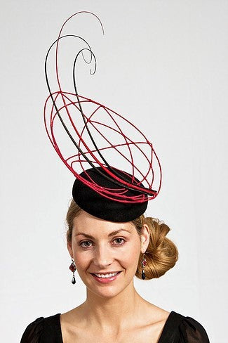 B Unique with Freeform Wirework - 15th August - [Alison Clark] - B Unique Millinery