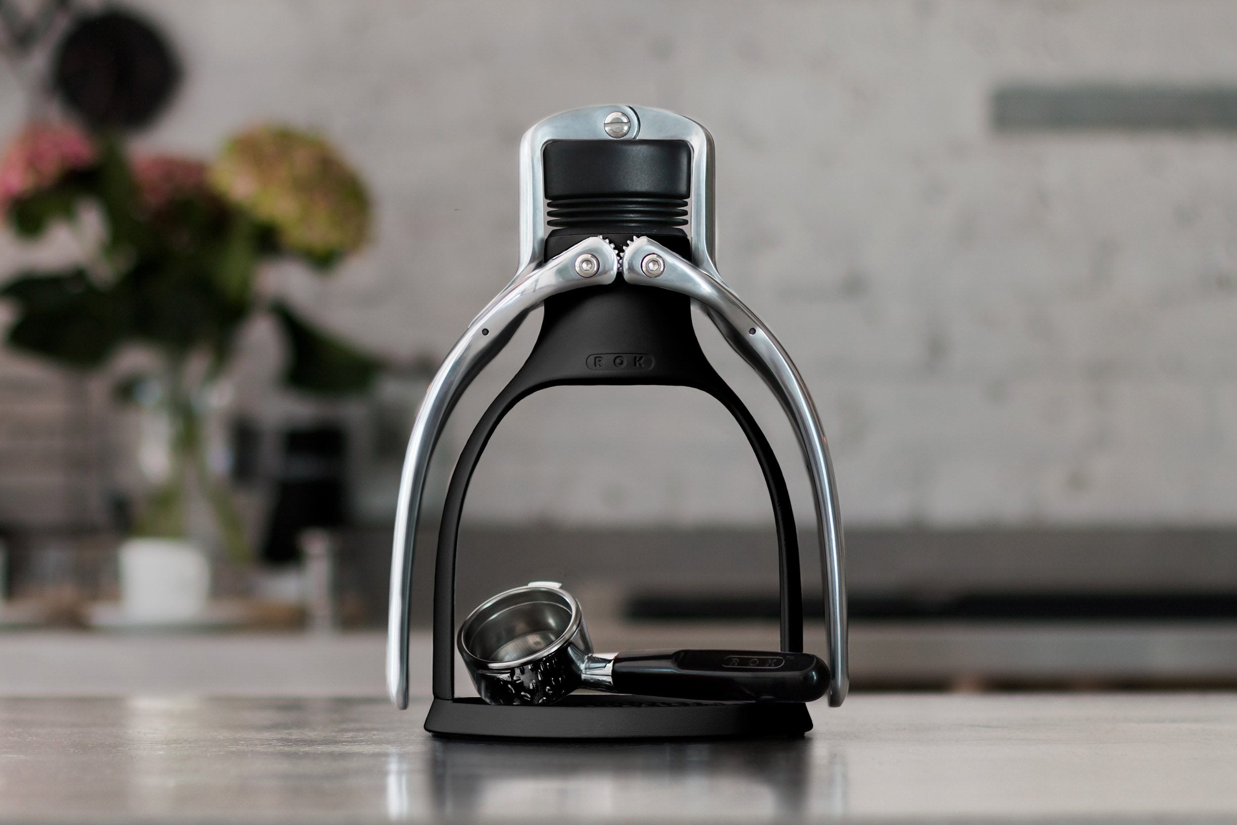 ROK Espresso GC Maker Black