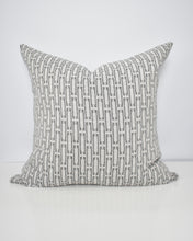 Load image into Gallery viewer, Grey Links Washable Pillow Cover