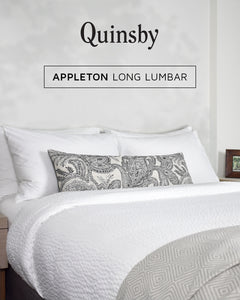 Appleton Long Lumbar Pillow Cover