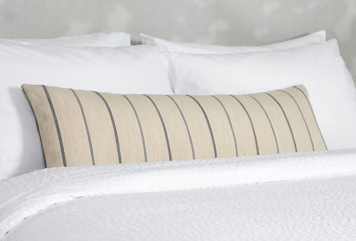 Elwin Natural Long Lumbar Pillow Cover