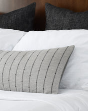 Load image into Gallery viewer, [Pre-Order] Stanton Grey Long Lumbar Pillow Cover