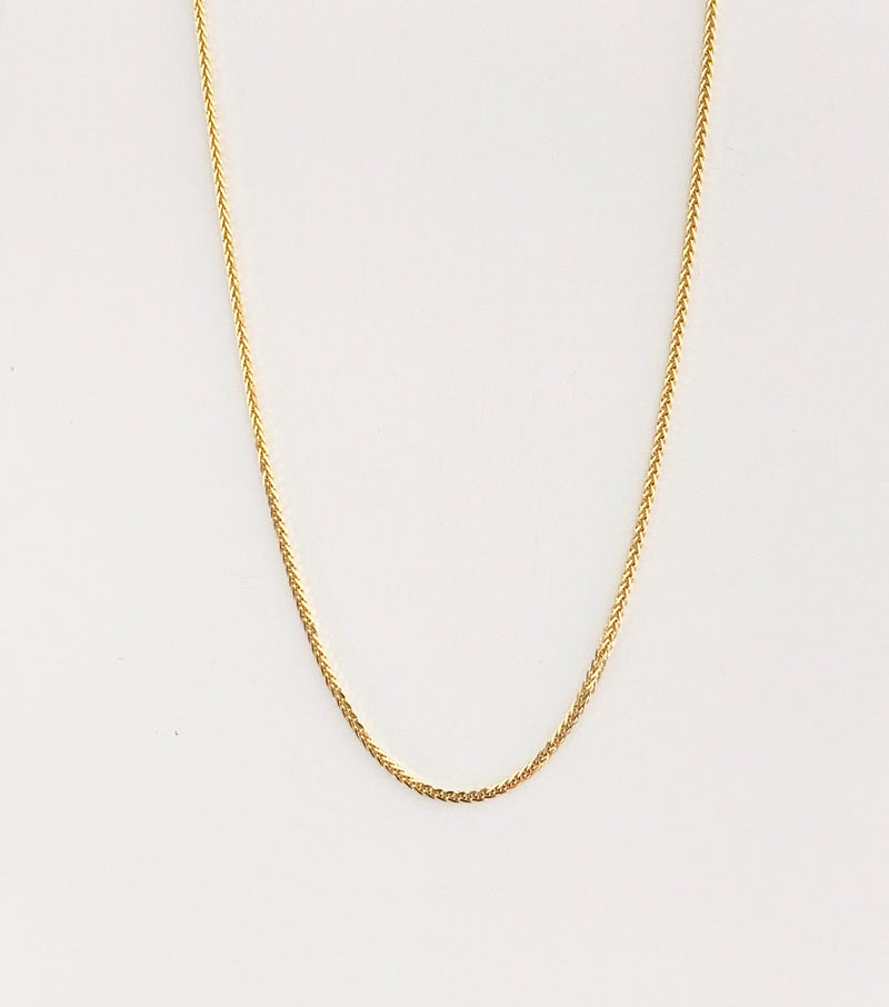 "18Kt Yellow Gold Chain 18"" long"