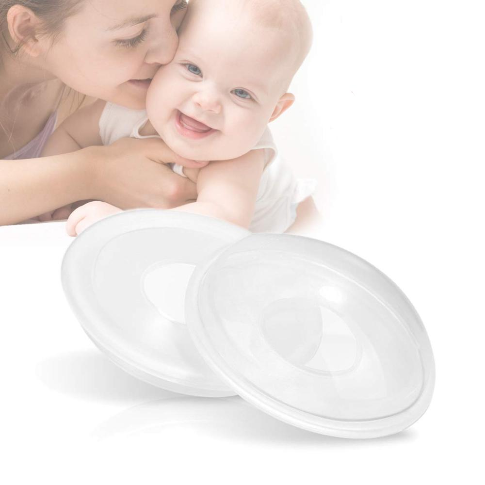 2PCS BREAST MILK COLLECTOR SHELLS