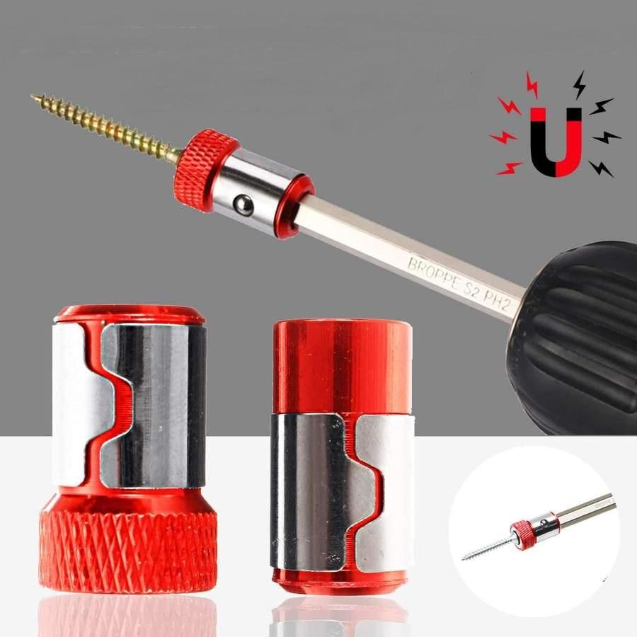 2 in 1 Screw Driver Magnetic Ring Bit