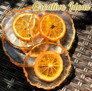 GeodeArt™ DIY Crystal Resin Coaster